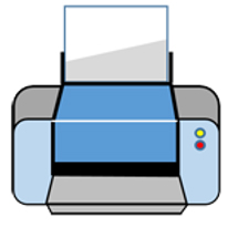 how to print information image printer